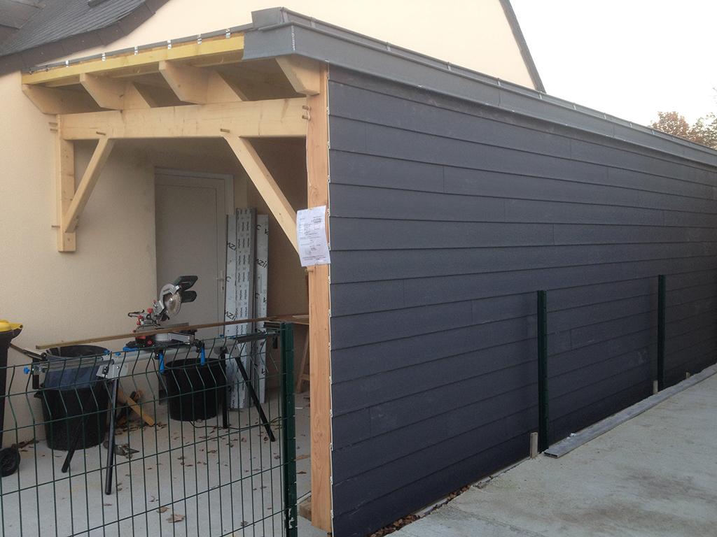 carport en bois rv renov. Black Bedroom Furniture Sets. Home Design Ideas