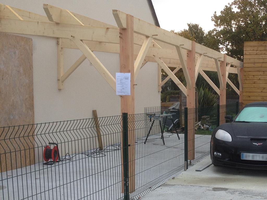 carport bois rv renov 3 rv renov. Black Bedroom Furniture Sets. Home Design Ideas