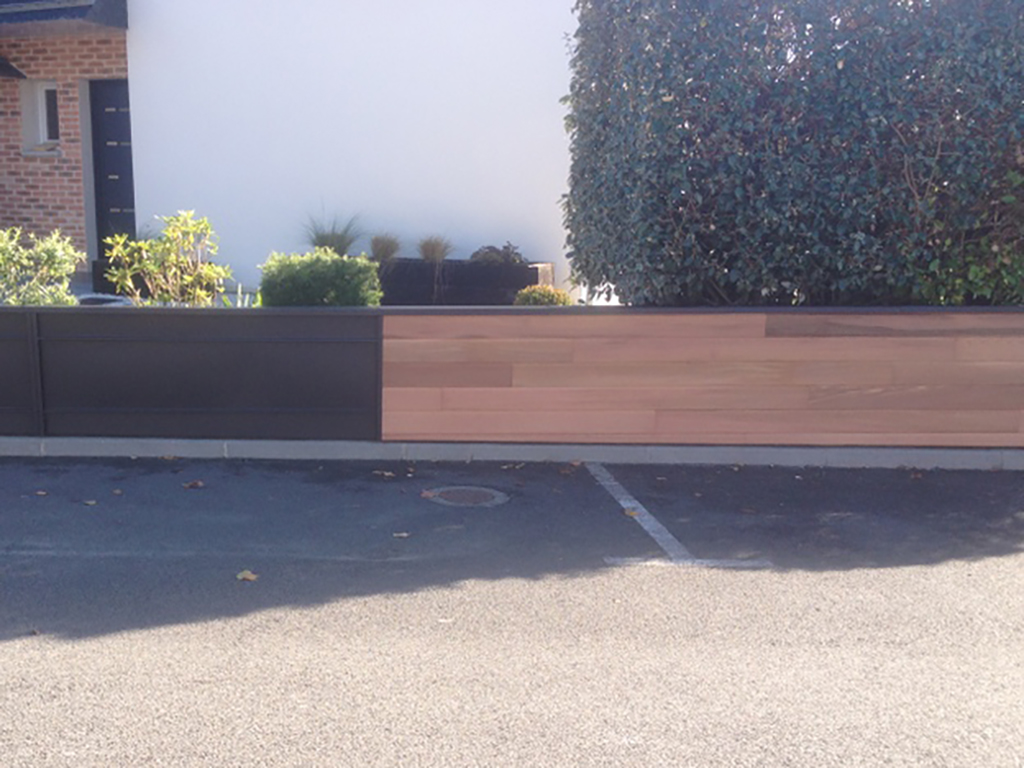 portail bois zinc rv renov 5 rv renov. Black Bedroom Furniture Sets. Home Design Ideas